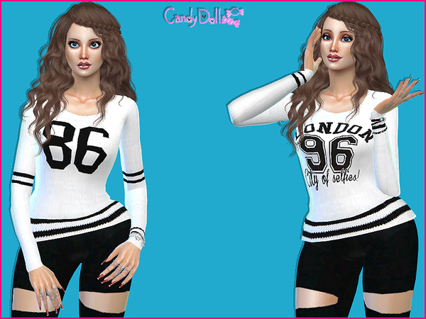 CandyDoll CuteSporty Tops by DivaDelic06 at TSR image 2190 Sims 4 Updates