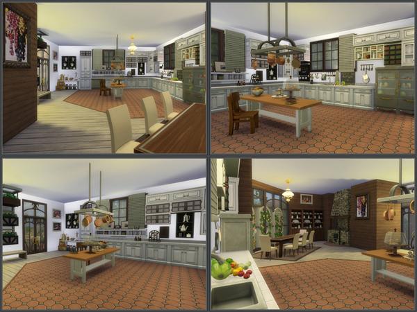 Sims 4 Mediterranean villa by Danuta720 at TSR