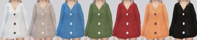 TS4 Oversized Cardigan at Kalewa a image 2216 670x136 Sims 4 Updates