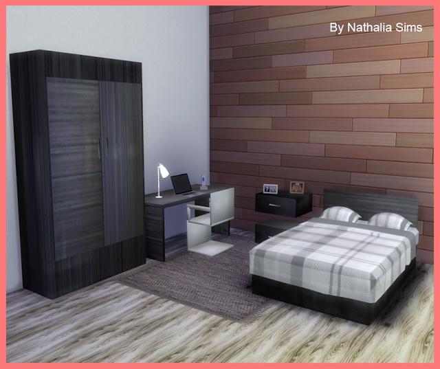 Sims 4 The First bedroom at Nathalia Sims