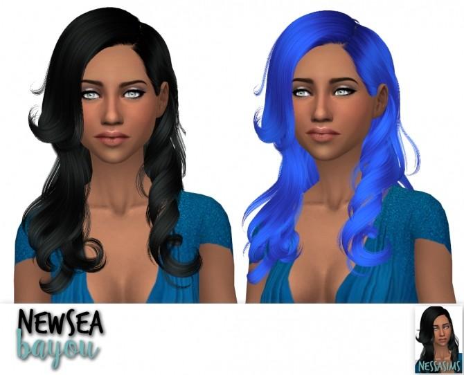 Sims 4 Newsea bayou, bonnie & carly retextures at Nessa Sims
