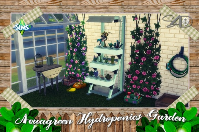 Sims 4 single items downloads sims 4 updates page 43 for Garden design sims 4