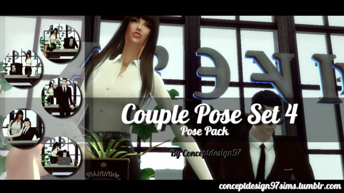 Couple Pose Set 4 at ConceptDesign97 image 2303 670x377 Sims 4 Updates