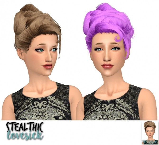 Stealthic lovesick, misery & paradox retextures at Nessa Sims image 2305 670x608 Sims 4 Updates
