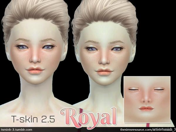 Sims 4 T Skin 2.5 ROYAL SKIN by tsminh 3 at TSR