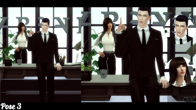Couple Pose Set 4 at ConceptDesign97 image 2333 670x377 Sims 4 Updates