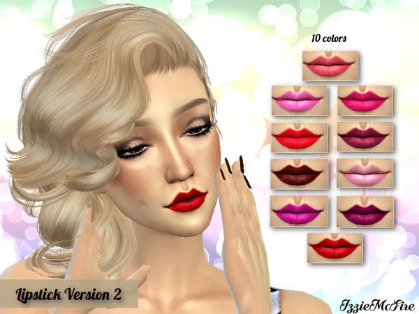 IMF Lipstick Version 2 by IzzieMcFire at TSR image 2410 Sims 4 Updates