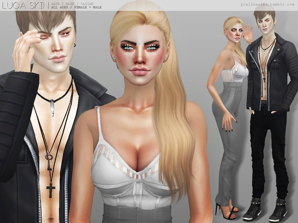 Sims 4 PS Luca Skin by Pralinesims at TSR