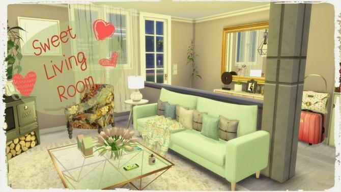 Sweet Livingroom at Dinha Gamer image 2497 670x377 Sims 4 Updates
