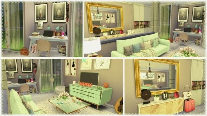 Sweet Livingroom at Dinha Gamer image 2508 670x377 Sims 4 Updates