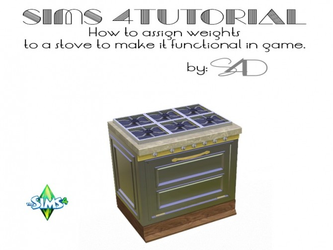 How to Assign Weights to a Stove tutorial at Daer0n – Sims 4 Designs image 2516 670x503 Sims 4 Updates
