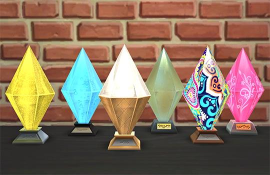 Sims 4 TS4 Stuff Pack Awards at W Sims
