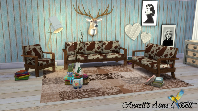 TS3 EA Sofa Set Farm Chic Conversion & Recolors at Annett's Sims 4 Welt image 2633 Sims 4 Updates