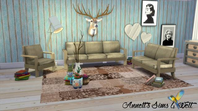 TS3 EA Sofa Set Farm Chic Conversion & Recolors at Annett's Sims 4 Welt image 2643 Sims 4 Updates