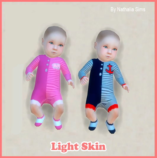 Skins of Baby Set 5 at Nathalia Sims » Sims 4 Updates