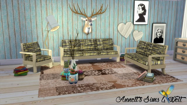 TS3 EA Sofa Set Farm Chic Conversion & Recolors at Annett's Sims 4 Welt image 2653 Sims 4 Updates