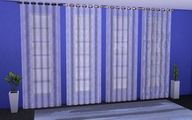 Curtain Modest design by ihelen at ihelensims image 2717 670x419 Sims 4 Updates