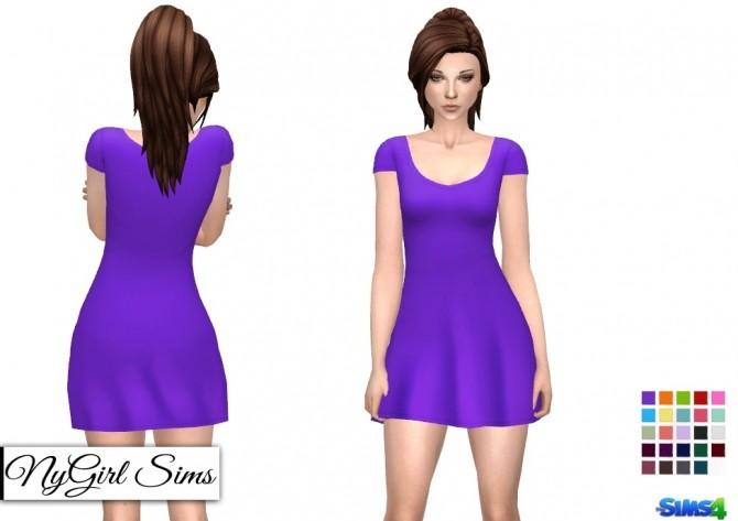 Basic T Shirt Sundress at NyGirl Sims image 2723 670x473 Sims 4 Updates