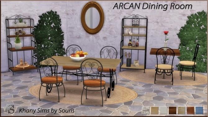 Sims 4 ARCAN diningroom at Khany Sims
