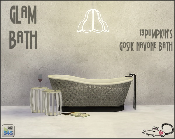 4 swatches on 13pumpkin31 conversion of Gosik's Navone Bath at Loverat Sims4 image 2812 Sims 4 Updates