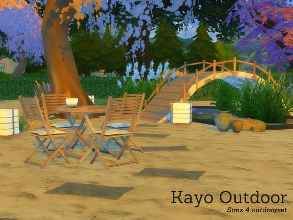 Sims 4 Kayo Outdoor by Angela at TSR