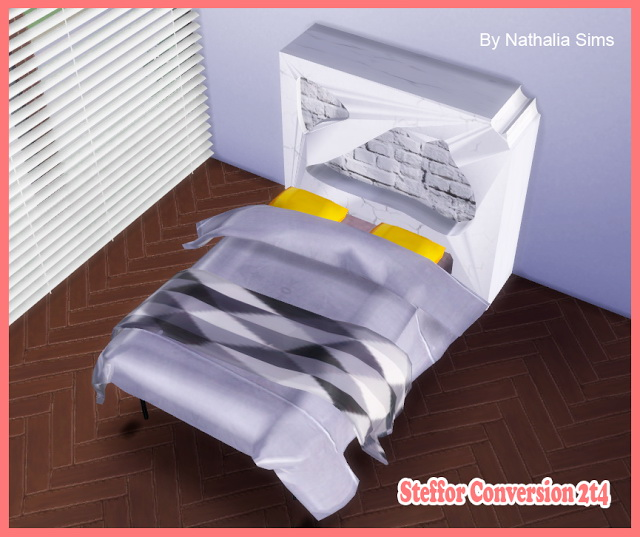 Bedroom Steffor Conversion 2t4 at Nathalia Sims image 2881 Sims 4 Updates