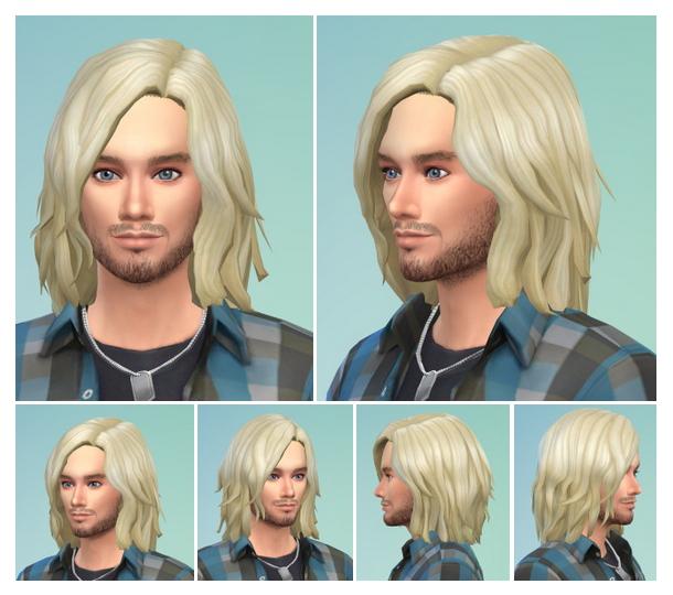 Sims 4 Kurt Cobain & Kurty Hair at Birksches Sims Blog