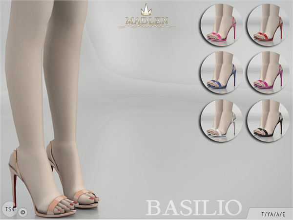 Madlen Basilio Shoes by MJ95 at TSR image 301 Sims 4 Updates