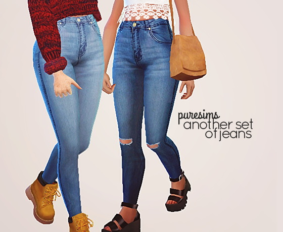 Another Set Of Jeans At Puresims 187 Sims 4 Updates