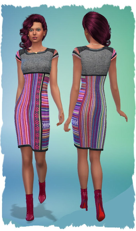 Colorful dresses by Chalipo at All 4 Sims image 352 Sims 4 Updates