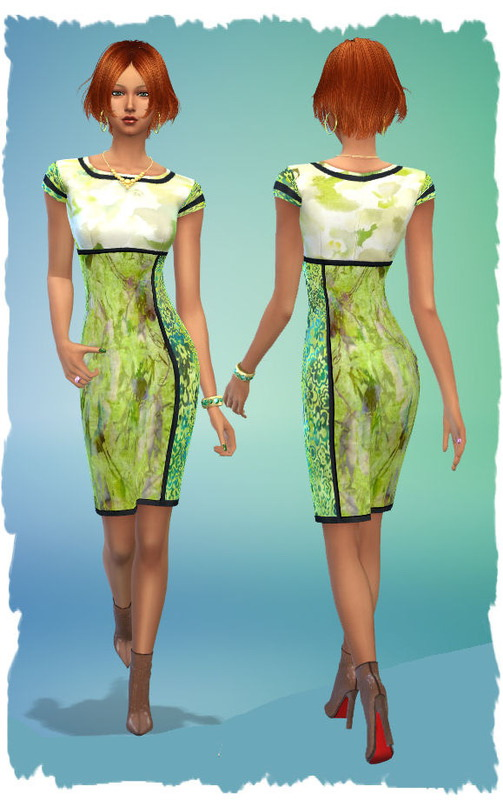 Colorful Dresses By Chalipo At All 4 Sims 187 Sims 4 Updates