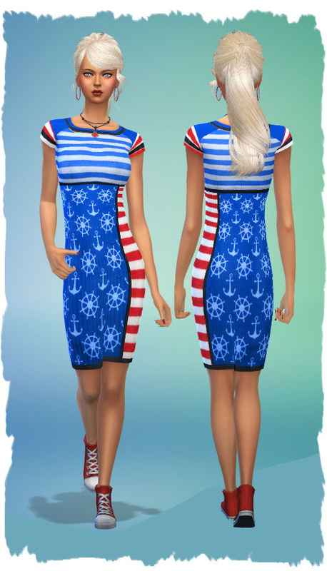 Colorful dresses by Chalipo at All 4 Sims image 355 Sims 4 Updates