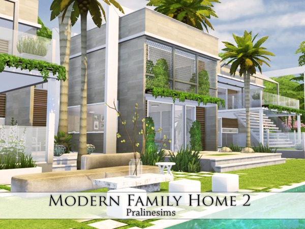 Modern Family Home 2 by Pralinesims at TSR image 371 Sims 4 Updates