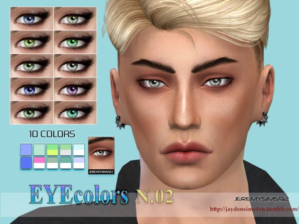 Sims 4 Jeremy Eyecolors N 2 by jeremy sims92 at TSR
