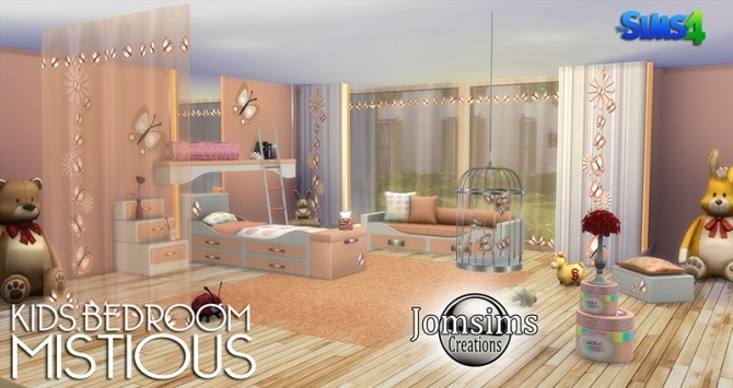 Mistious kids bedroom at jomsims creations image 3917 670x355 sims 4