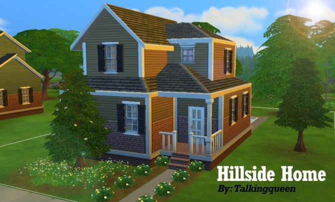 Sims 4 Hillside Home by talkingqueen at Mod The Sims