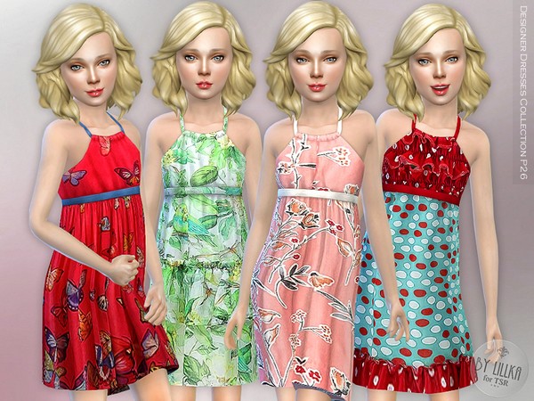 Designer Dresses Collection P26 by lillka at TSR image 428 Sims 4 Updates