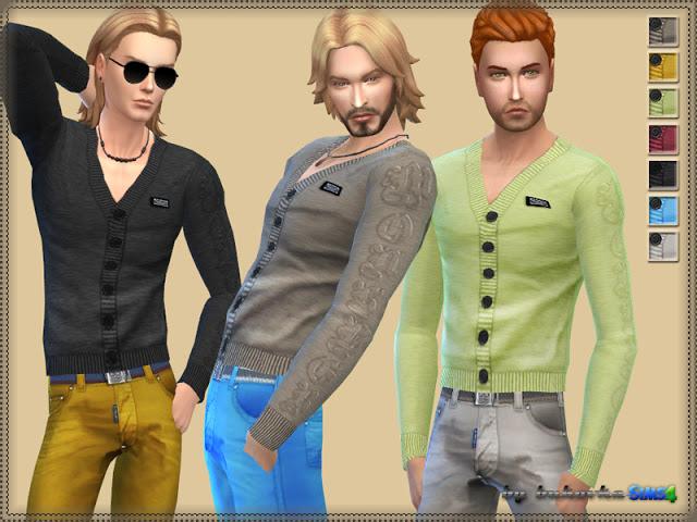 Cardigan & V neck at Bukovka image 4312 Sims 4 Updates