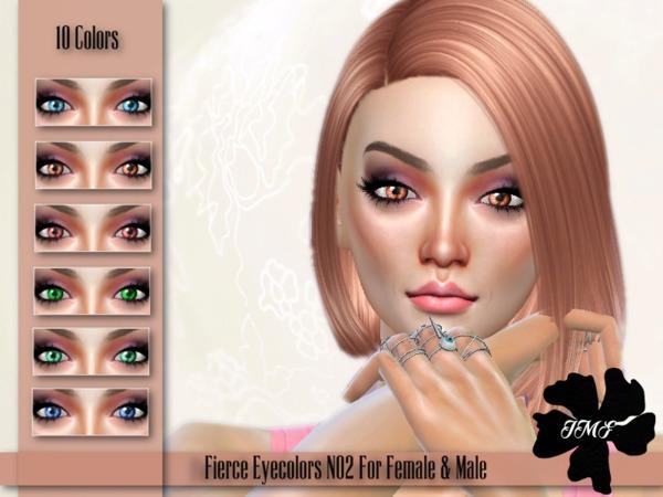 Sims 4 IMF Fierce Eyecolors N02 F/M by IzzieMcFire at TSR