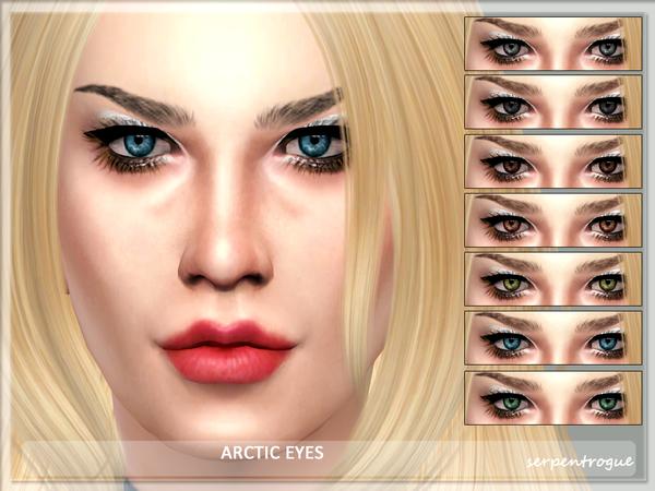 Sims 4 Arctic Eyes by Serpentrogue at TSR