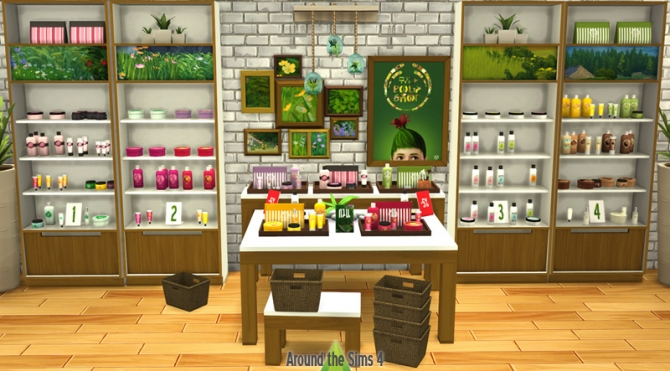 The Body Shop Store By Sandy At Around The Sims 4 187 Sims 4
