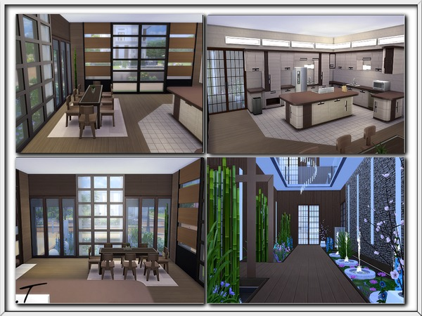 Sims 4 Zenobia house by Torque at TSR