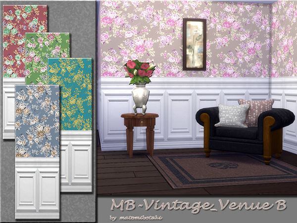 MB Vintage VenueB by matomibotaki at TSR image 5214 Sims 4 Updates