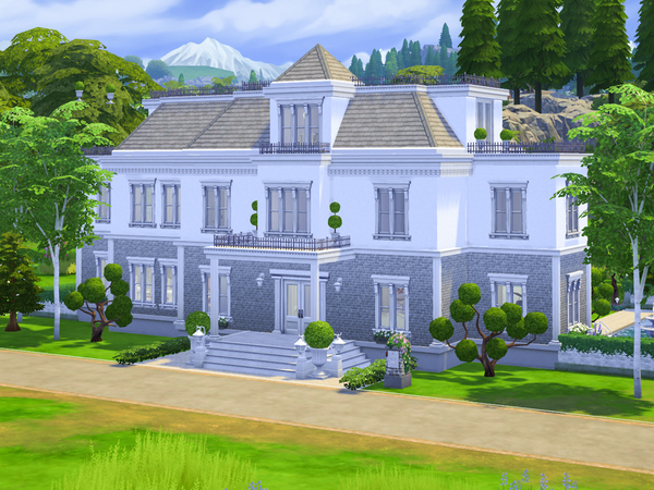Country Garden House by dancbauer at TSR image 531 Sims 4 Updates