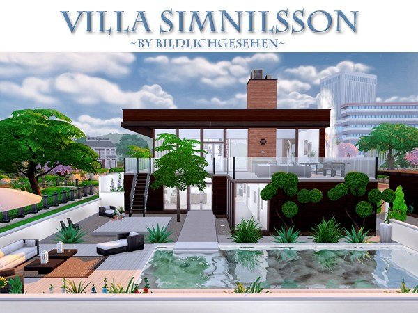 Simnilsson villa at Akisima image 54 Sims 4 Updates