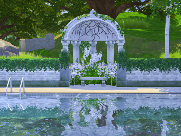 Country Garden House by dancbauer at TSR image 541 Sims 4 Updates