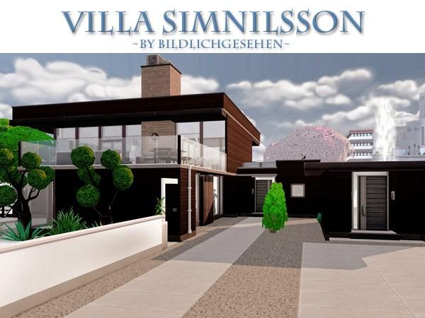 Sims 4 Simnilsson villa at Akisima