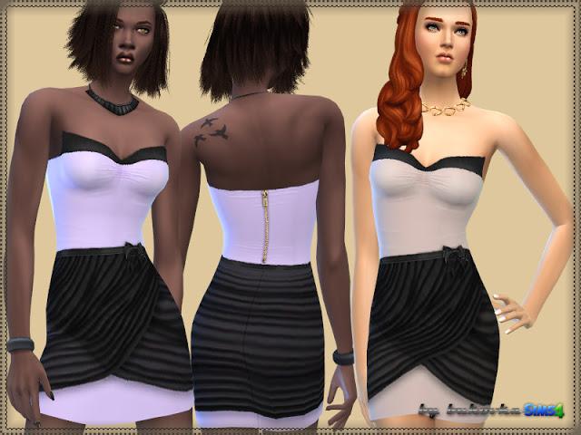 Sims 4 Dress Wang at Bukovka