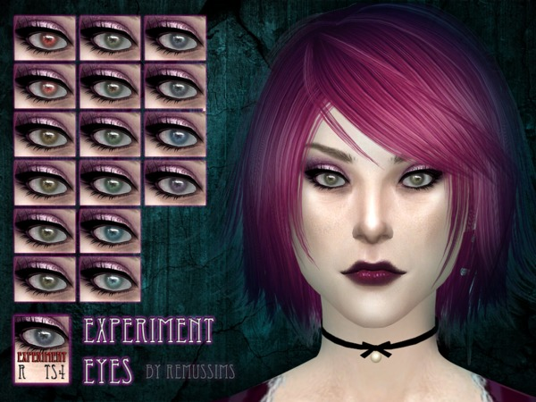 Sims 4 Experiment Eyes by RemusSirion at TSR