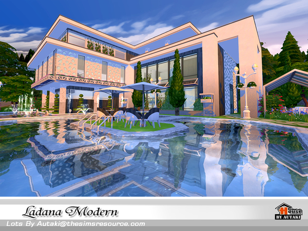 Ladana Modern house by autaki at TSR image 575 Sims 4 Updates